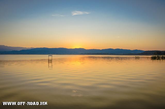 Lake Dojran, Macedonia - Sunrise scene