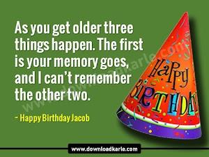 Happy Birthday Jacob Cake Images