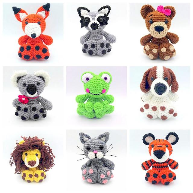 Amigurumi animal crochet patterns