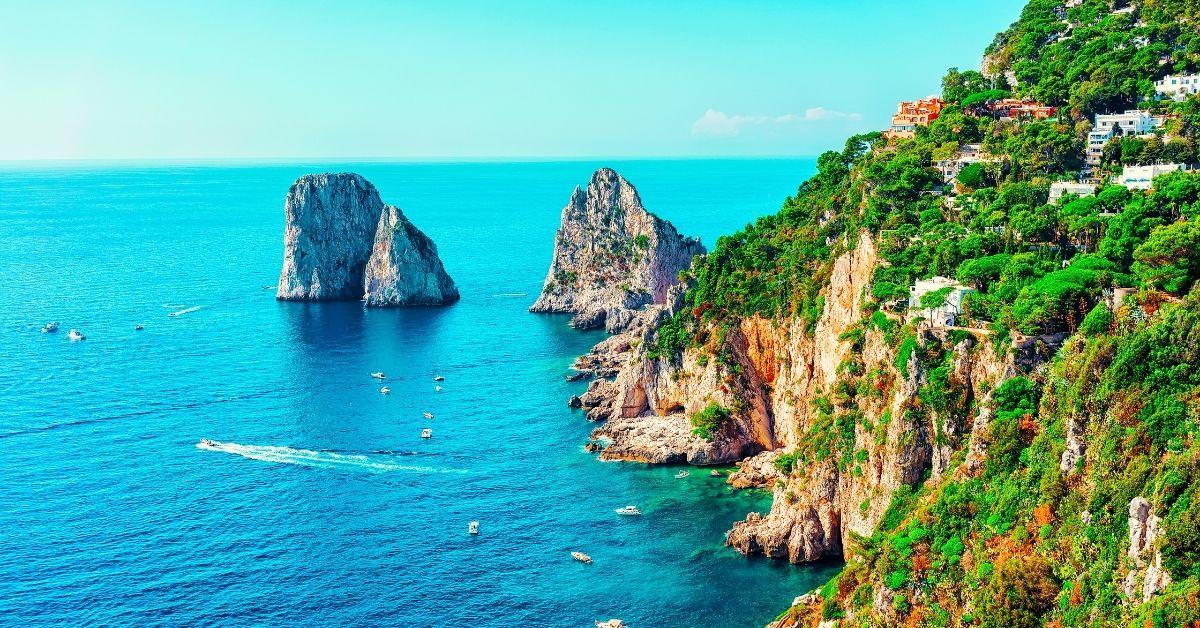 Capri Island - Turquoise Beaches And Celebrity Destination - Moniedism