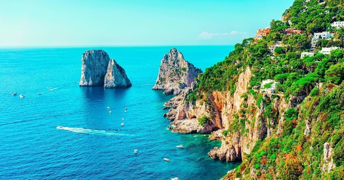 Capri Island - Turquoise Beaches And Celebrity Destination