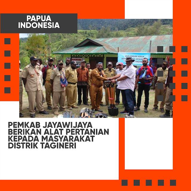 pemkab-jayawijaya-berikan-alat-pertanian-kepada-masyarakat-distrik-tagineri
