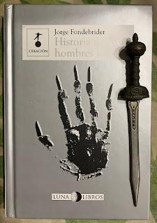 Portada del libro Historia de los hombres lobo, de Jorge Fondebrider