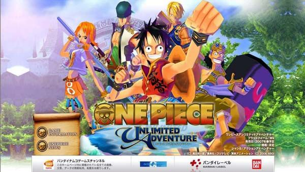 Free download game One Piece Unlimited Adventure