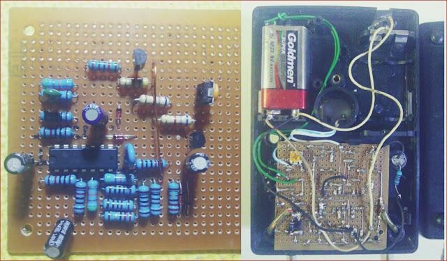 Mesin bagian dalam Alat ESR Meter Manual - Alat Test Kerusakan Elco