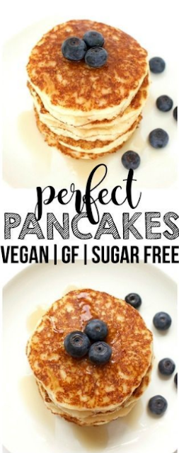 Perfect Vegan Pancakes