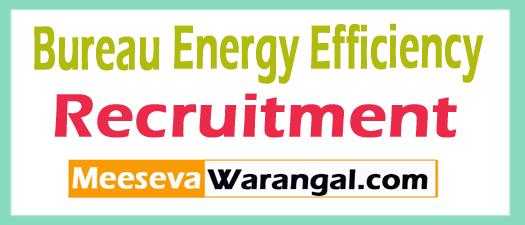 Bureau Energy Efficiency BEE Recruitment