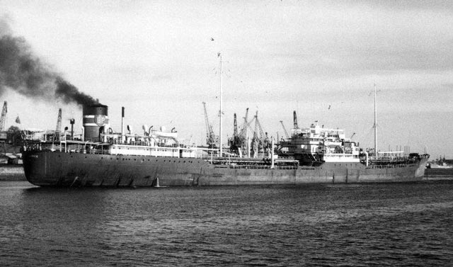 British tanker British Resources, 15 March 1942 worldwartwo.filminspector.com