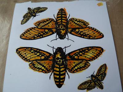 moth stamp