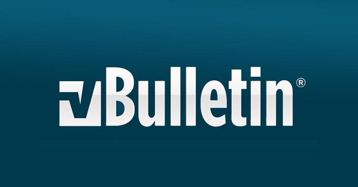 vBulletin zero-day exploit