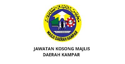Jawatan Kosong Majlis Daerah Kampar 2019