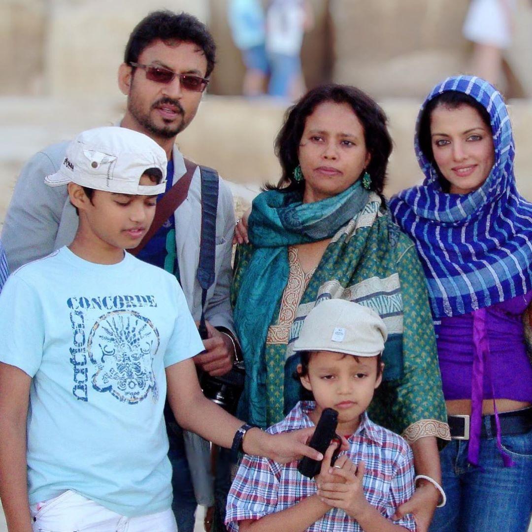 Bollywood actress Celina Jaitly remembers Sir Irrfan Khan. She wrote on social media website Instagram,