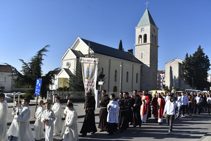 Misom i procesijom proslavljen blagdan sv. Kate u Ljubuškom