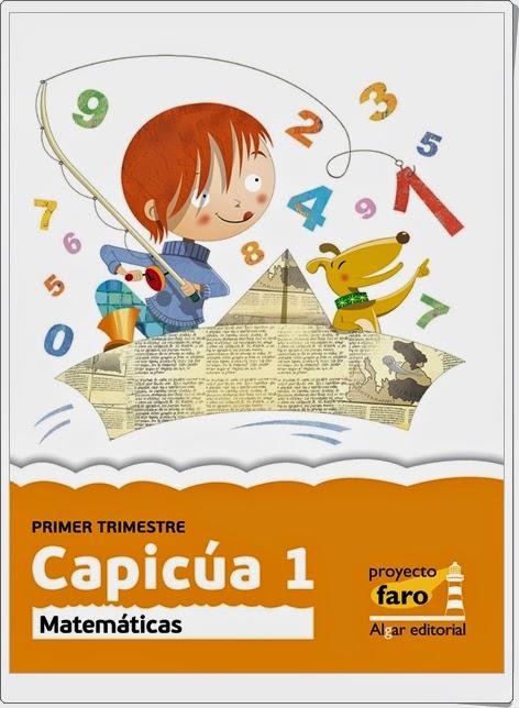"""""""Capicúa 1"""". Actividades digitales de Matemáticas de 1º de Primaria. Ediciones Bromera."""