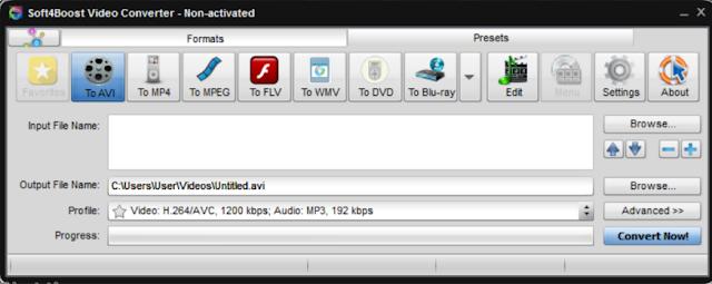 تحميل برنامج تحويل صيغ الفيديو مجانا للكمبيوتر Video Converter