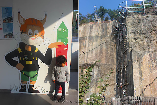 Adventure Valley Durbuy with kids Click and Climb