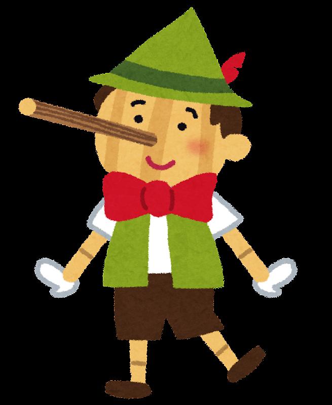 「ピノキオ いらすとや」の画像検索結果