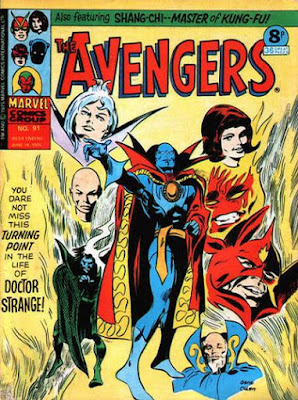 Marvel UK, The Avengers #91, Dr Strange