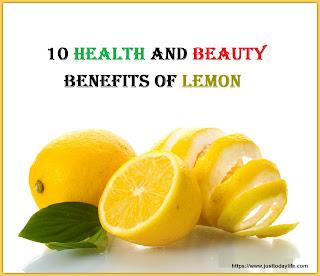 benefits of lemon tips health and beauty