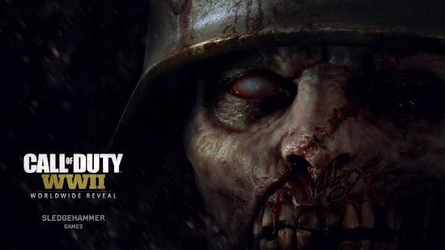 Call of Duty WWII tendrá versión zombie y filtran el tráiler