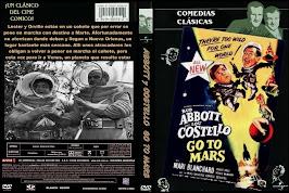 Abbott y Costello van a Marte (1953) - Carátula