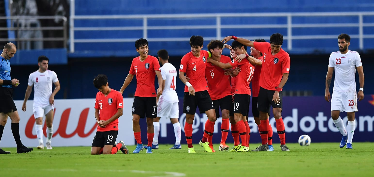 Korea hold on to defeat Iran 01.12.20