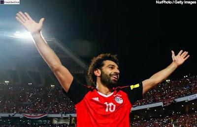 جميع اهداف محمد صلاح مع المنتخب المصري