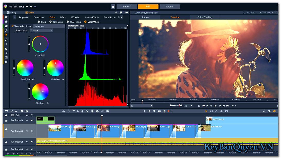 Hướng dẫn tải và cài đặt Pinnacle Studio Ultimate 23 + Content Packs Full Key, Siêu ứng dụng biên tập phim đỉnh cao .