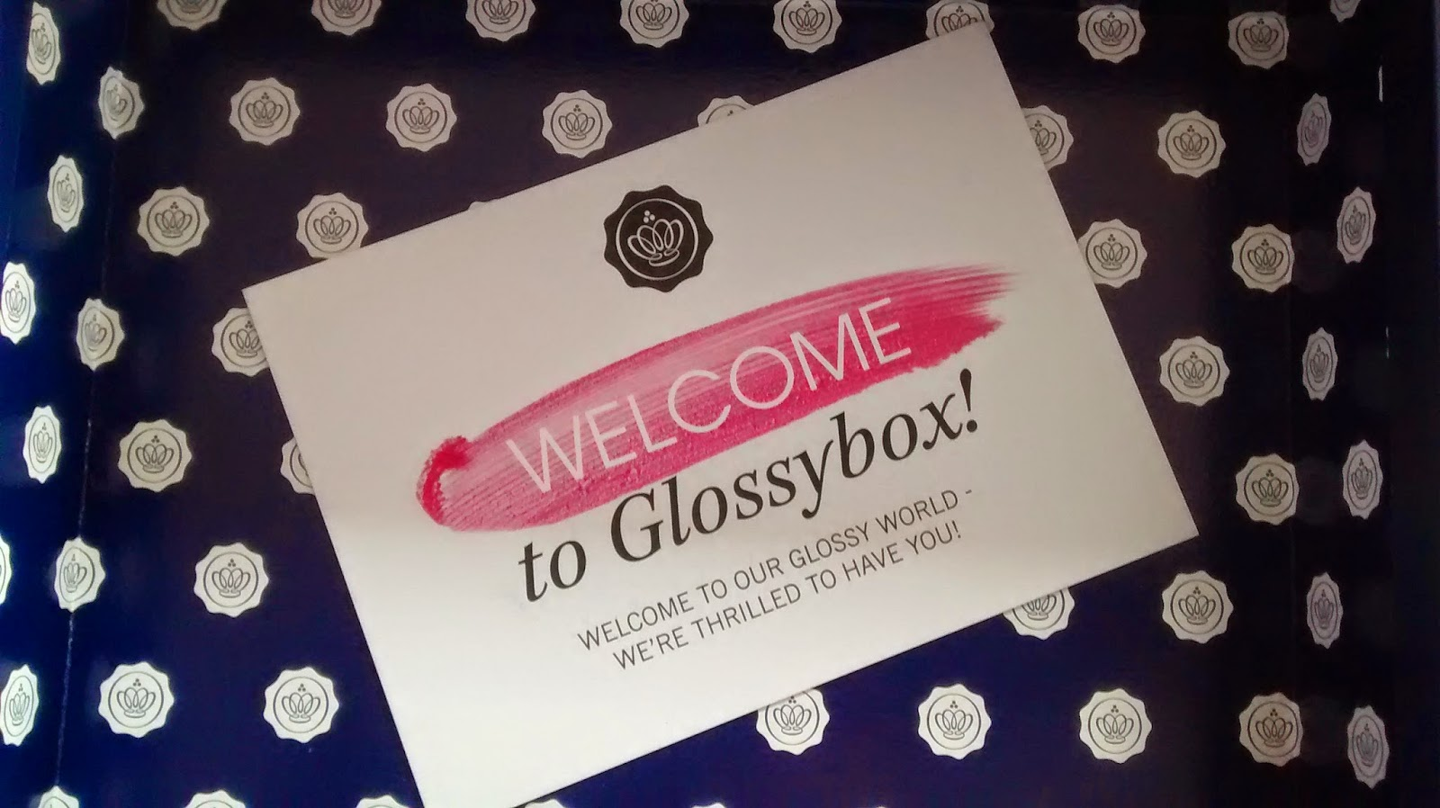 Welcome To Glossybox