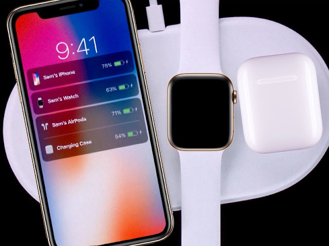 AppleAirpower, iPhone, Airpods, Apple Watch