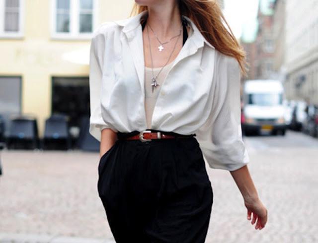 Crisp, White Shirt