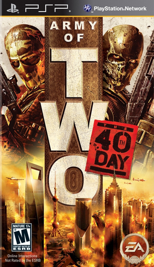 Army of Two   The 40th Day - Army of Two the 40th Day For PSP