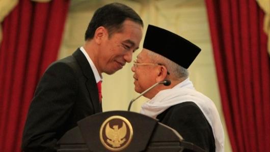 Dukungan Minoritas kepada Pasangan Jokowi-Ma'ruf Melonjak