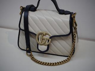 GGマーモント ミニ トップハンドル  グッチのバッグをお買い取り致しました