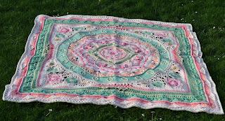 Crochet blanket Scheepjes CAL 2020