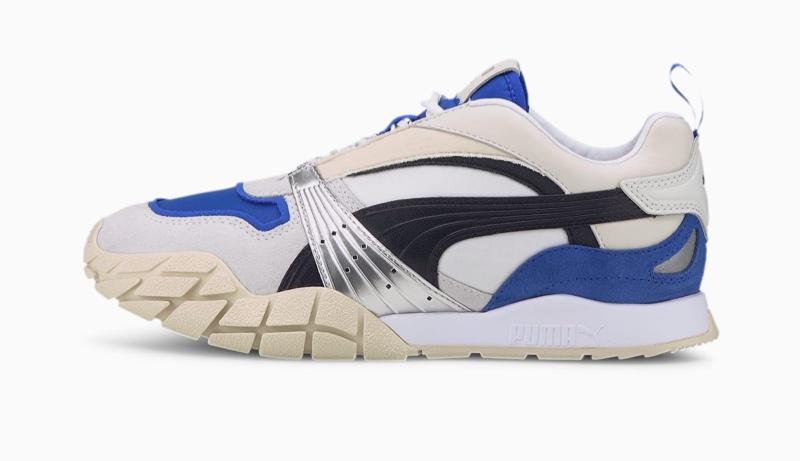 PUMA Kyron Awakening Sneaker in White/Dazzling Blue