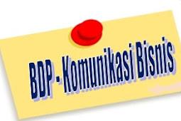 KI KD Komunikasi Bisnis - Bisnis Daring dan Pemasaran (BDP)