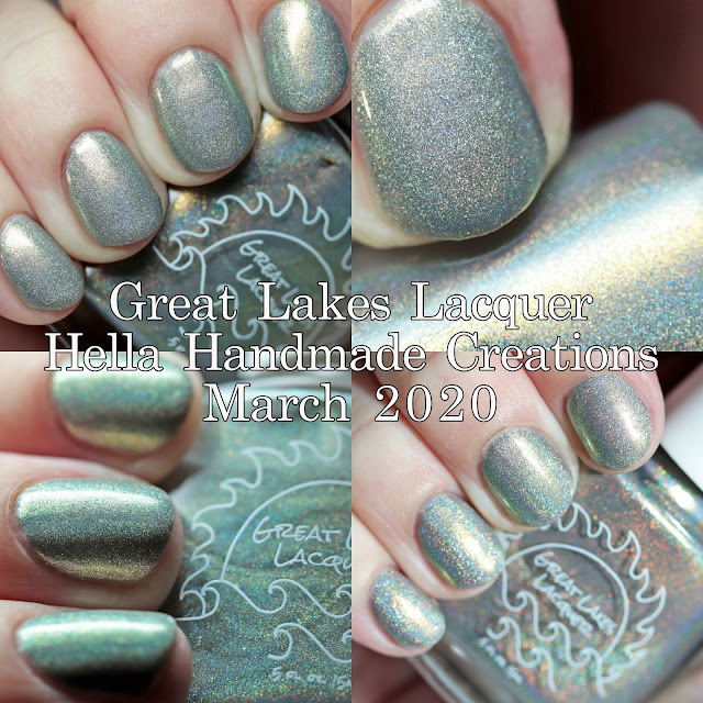 Great Lakes Lacquer Hella Handmade Creations March 2020