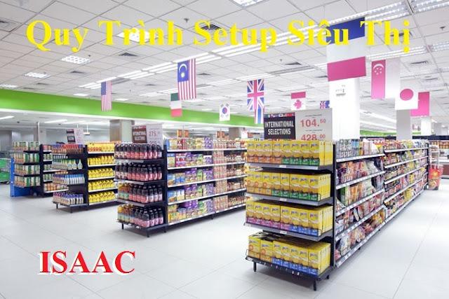 Quy trình các bước setup siêu thị, lập kế hoạch kinh doanh thành công