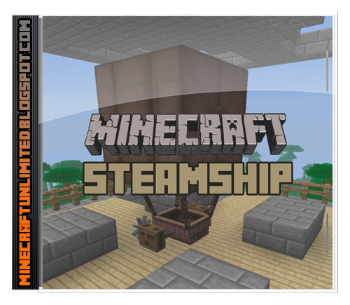 SteamShip Mod Minecraft cover