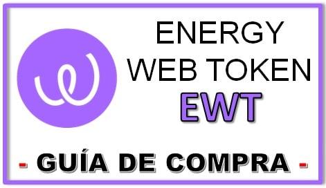 Cómo y Dónde Comprar Criptomoneda ENERGY WEB TOKEN (EWT) Tutorial Actualizado