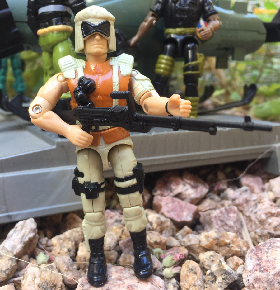 Great Condition GI Joe 2002 Mirage v3 Figure Only