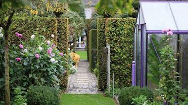 Jardines casi privados. Jardín Fancrever Höfke en los Países Bajos
