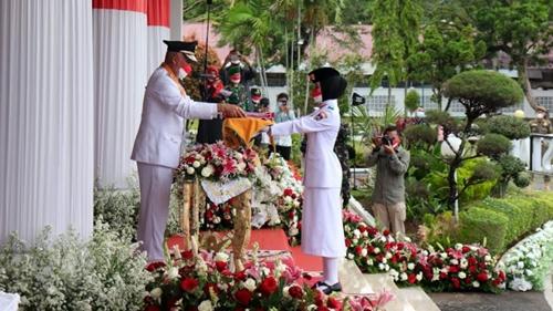 Gubernur Apresiasi Paskibraka yang Sukses Tunaikan Tugas Kebangsaan
