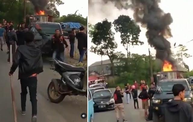 Ormas PP dan BPPKB Bentrok di Perbatasan Cianjur-Sukabumi, Satu Tewas