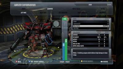 تحميل لعبة قتال الاليات العملاقة Front Mission Evolved