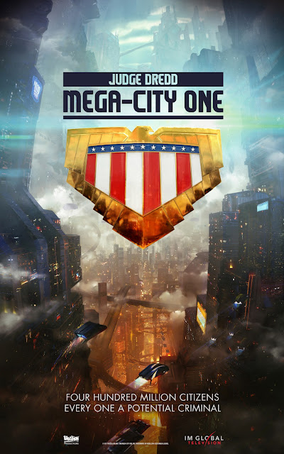Judge Dredd: Mega City One Teaser One Sheet Television Poster