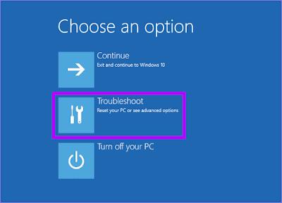 Langkah 4 Masuk Safe Mode Windows 10 Secara Paksa