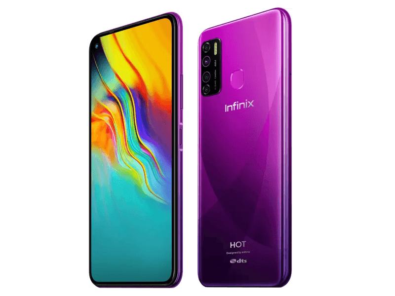 Infinix Hot 9 Pro in Violet