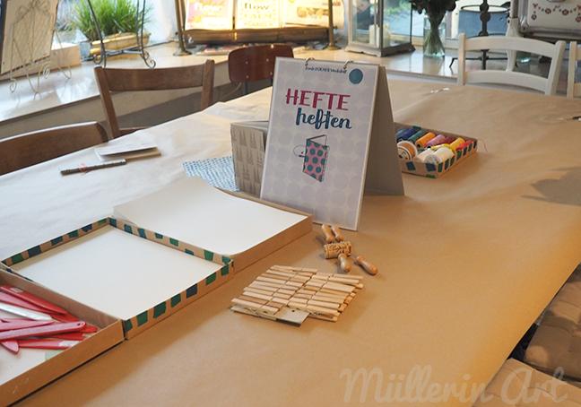 Bunte Bücher Werkstatt ©muellerinart